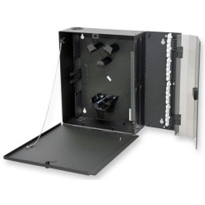 CORNING Wall mountable closet housing for 4 CCH panels.