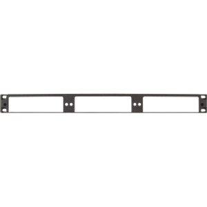 CORNING 1U Rack-Mountable Panel. Capacity for up to (3) plug & play systems modules or adapter panels.