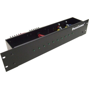 DuraComm Corp. Distribution Panel  10-Position with LEDs  48V