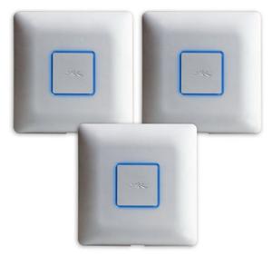 UAP-AC-3 - Ubiquiti UAP-AC-3 - UniFi AP-AC Dual-Band Access Point 3 pack (3X3 MiMO)