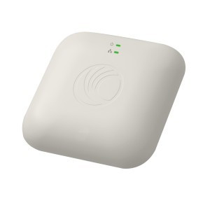 cnPilot E400 802.11ac Dual Band Wi-Fi Indoor Access Point with PoE Injector and CAT5 Ethernet Cable, RoW. No power cord