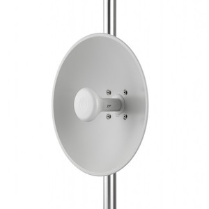 ePMP Force 200AR2-25, 2.4GHz Connectorized Radio and High Gain Dish Antenna. US power cord