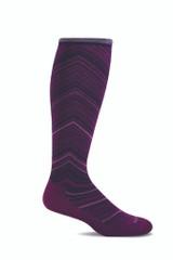 Wide calf compression socks for nurses