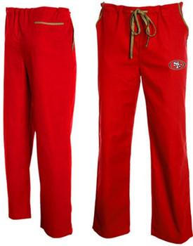San Francisco 49er's Scrub Pants