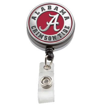 University of Alabama Retractable Badge Reel