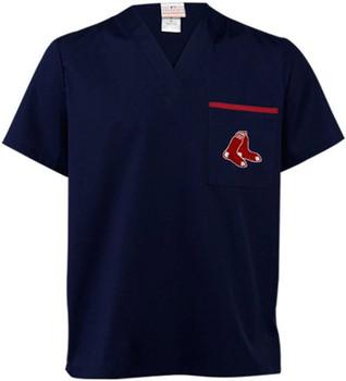 Boston Red Sox Men's MLB Scrub Top
