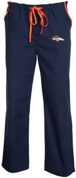 Denver Broncos NFL Scrub Pants