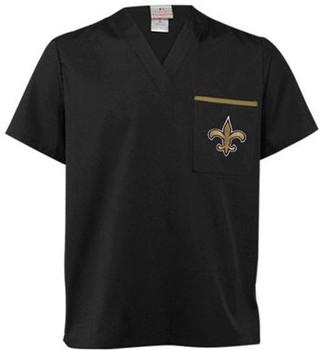 New Orleans Saints V Neck NFL Scrub Top