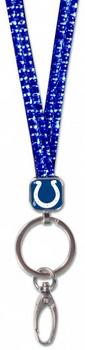 Indianapolis Colts Bling Lanyard - Royal
