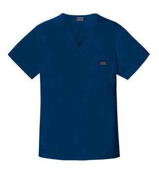 Cherokee Workwear 4789 V Neck Scrub Top For Men*