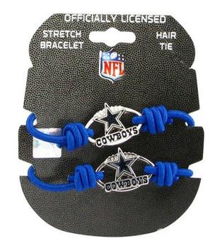 Dallas Cowboys Stretch Bracelet / Hair Tie