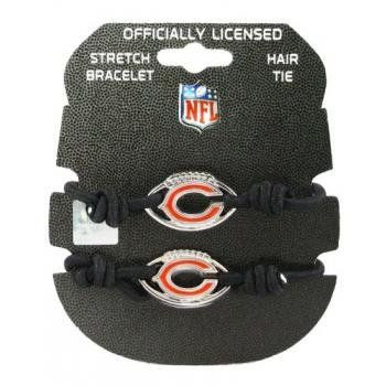 Chicago Bears Stretch Bracelet / Hair Tie