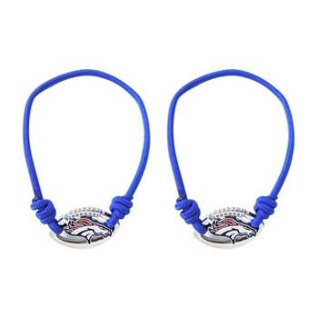 Denver Broncos Stretch Bracelet / Hair Tie