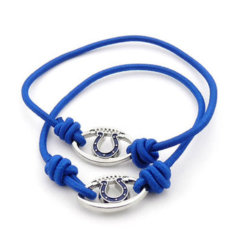 Indianapolis Colts Stretch Bracelet / Hair Tie