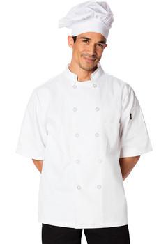 Classic Short Sleeve Chef Coat*