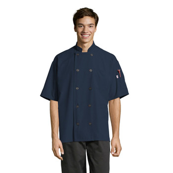 Specialist Short Sleeve Industrial Laundry Chef Coat*