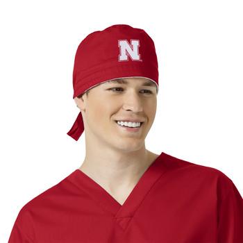 University of Nebraska Cornhuskers Scrub Cap for Men