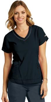 IMPACT by Grey's Anatomy™ Women's Seamed V-Neck Solid Scrub Top*