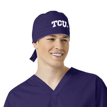 TCU Grape Scrub Cap for Men