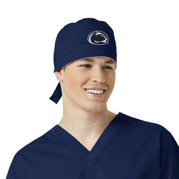 Penn State University Nittany Lions Navy Scrub Cap for Men
