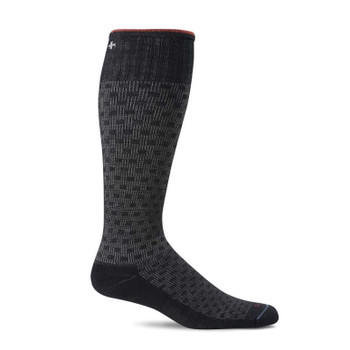 Sockwell Men's Shadow Box Moderate Compression Over-the-Calf Sock (15-20 mmHg)*