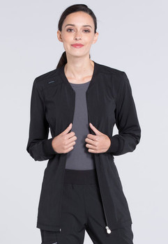 Infinity : Antimicrobial Zip Front Warm Up Jacket For Women*