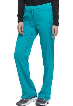 Dickies Dynamix : Mid Rise Drawstring Straight Leg Scrub Pant For Women*