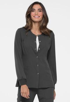 Elle : Women's Snap Front Warm-Up Jacket*