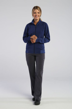 Elevate style 181502 by IRG : Women's zip front jacket*