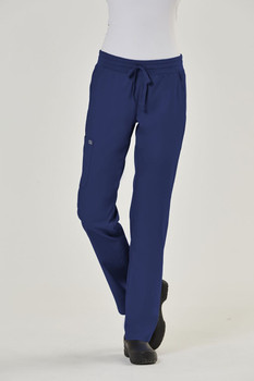 Edge 6802 by IRG : Ladies Semi-Tapered Pant with Yoga Style Waistband*