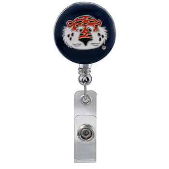 Auburn Retractable Badge Reel - Licensed Auburn Badge Reel
