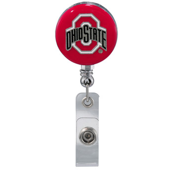 Ohio State Buckeyes Retractable Badge Reel - Licensed Ohio State Badge Reel