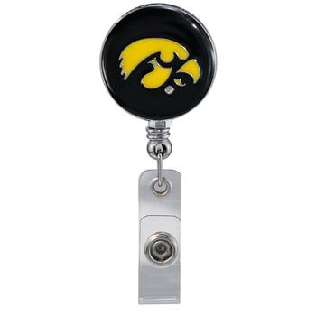 University of Iowa Hawkeyes Retractable Badge Reel - Licensed  Badge Reel