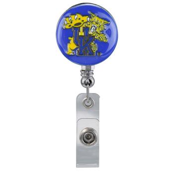 Kentucky Wildcats Retractable Badge Reel - Licensed Badge Reel