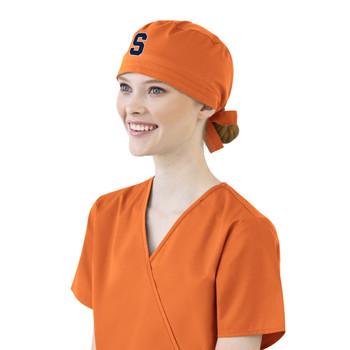 Syracuse Orange Scrub Cap for Women