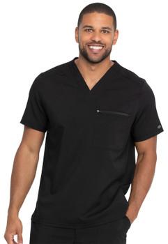 Dickies Balance : Men's V Neck Scrub Top with Sleeve Zip Pocket*