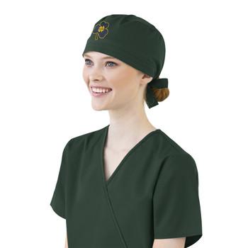 Notre Dame Fighting Irish Shamrock Scrub Cap for Women