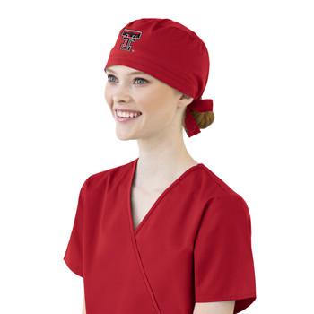 Texas Tech University- Red Raiders Scrub Cap - Women