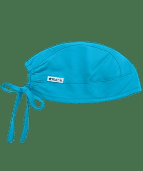Adjustable Cyan Blue Colored Scrub Cap - In Stock!
