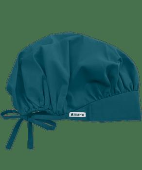 Adjustable Caribbean Colored Bouffant Scrub Cap - In Stock!