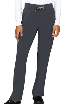 Med Couture Insight Women's Zipper Straight Leg  Scrub Pant style 2702*
