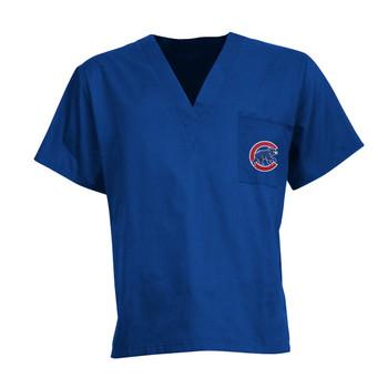 Chicago Cubs Scrub Top