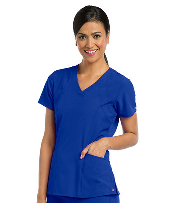 Barco ONE : 5106 V Neck Scrub Top For Women*