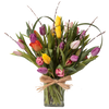 Premium/Best - 30 Mixed Tulips in a vase