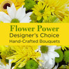Bright & Cheerful Yellow Colored Florist Designed Bouqet