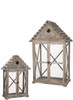 Birdhouse Lantern Set of 2