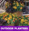 Outdoor Custom Planter Subcription for Your Business or Home (Price Per Quarter- Per Planter)
