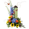 "Herbs 20""  Art Pole"