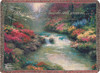 Beside Still Waters by Thomas Kincade Throw Blanket