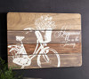 HAPPINESS BICYCLE PLAQUE